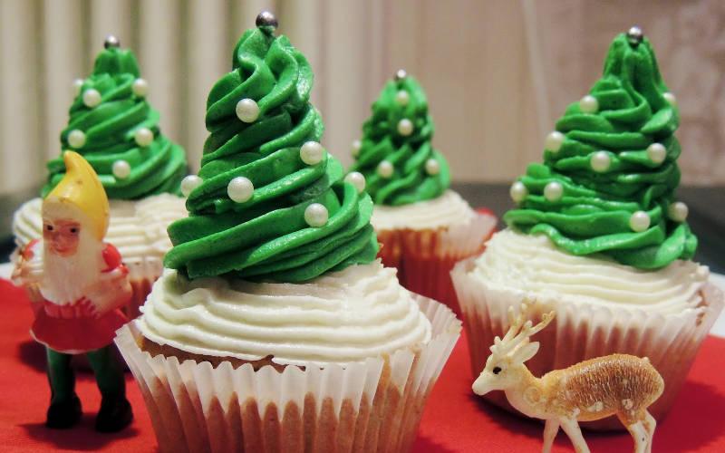 A no l c est plus que jamais la folie des cupcakes - Jeux de cuisine de cupcake ...