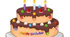 Prépare un gâteau d'anniversaire