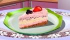 Une tarte glacée