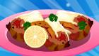 Crevette pimentée au bacon