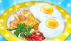 Cuisine un petit-déjeuner anglais
