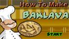 Prépare un Baklava