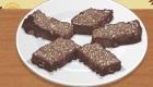 Jeu pour préparer un brownies au chocolat