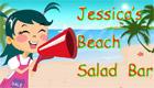 Jessica fait des salades