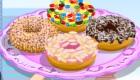 Jeu pour faire des donuts