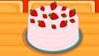 Cuisine un délicieux cheesecake aux fraises