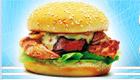 Cuisine des hamburgers au poulet