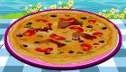 Cuisine une pizza au saumon