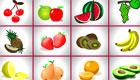 Jeu de mémoire des fruits