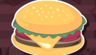 Des hamburgers en pâte à modeler