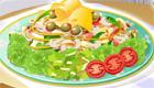 Une salade légère