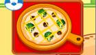 Des pizzas italiennes