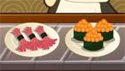 Jeu de sushi japonais
