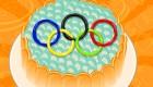 Un gâteau olympique