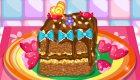 Gâteau croustillant au chocolat