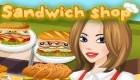Cuisiner et servir des sandwichs