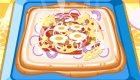 Cuisine une délicieuse pizza