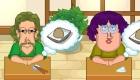 Au restaurant de sushi