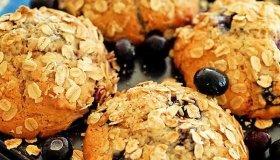 Muffins myrtille banane