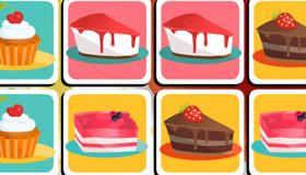 Jeu de mémoire de gâteaux