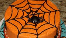 Gâteau Araignée pour Halloween