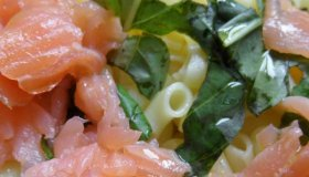 Coquillettes au saumon