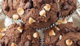 Muffins triple choco
