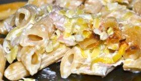 Gratin de pâtes au Gorgonzola