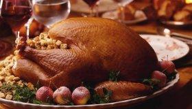 Dinde de Thanksgiving farcie aux marrons