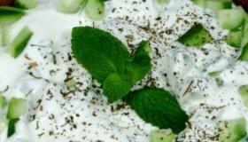 Concombres au yaourt
