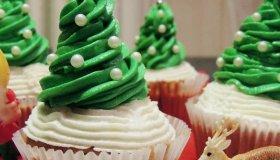 A Noël, c'est plus que jamais la folie des cupcakes!