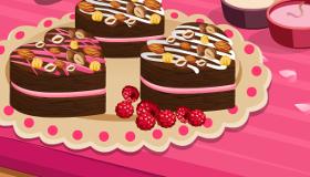 Brownies à la Crème de Framboise
