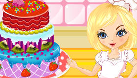 Décorer un gâteau d'anniversaire