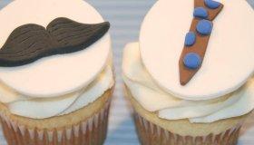 Le cupcake de la fête des pères
