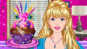 Barbie cuisine des cupcakes