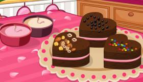 Brownies choco-framboises