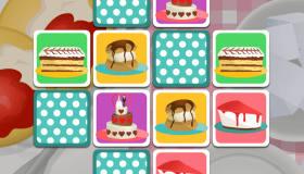 Jeu de mémoire avec des gâteaux