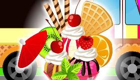 Des glaces savoureuses