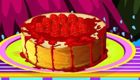 Le cheesecake aux fraises de Sara