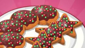 Cookies de Noël au chocolat