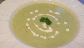 Soupe kiri et courgettes