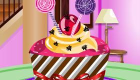 Décoration de cupcake en cuisine