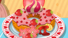 Déco sur donut