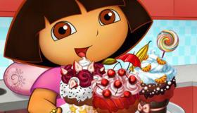 Les cupcakes de Dora