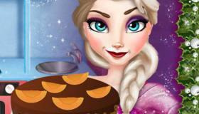 Le gâteau de Noël d'Elsa