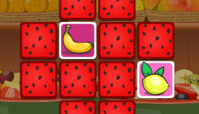 Jeu de mémoire de fruits