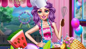 Cuisiner des bonbons comme une top chef