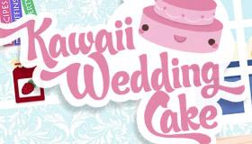 Fais le plus joli gâteau de mariage