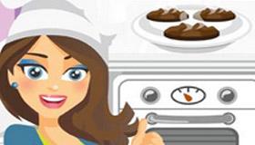 Jeu Monica Chef recette biscuits chocolat