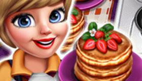 Des pancakes & des côtelettes
